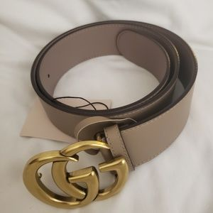 Accessories - Gucci nude belt